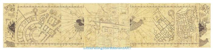 The Marauders Map by LittleFallingStar