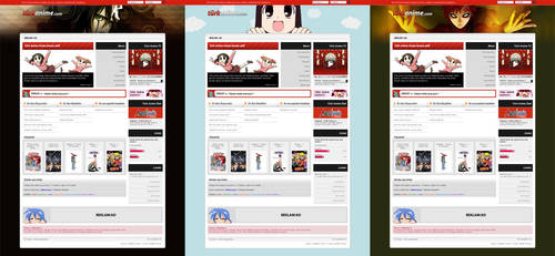 Turk Anime New Homepage by turkanime