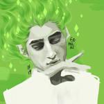 green fairy man - huevember