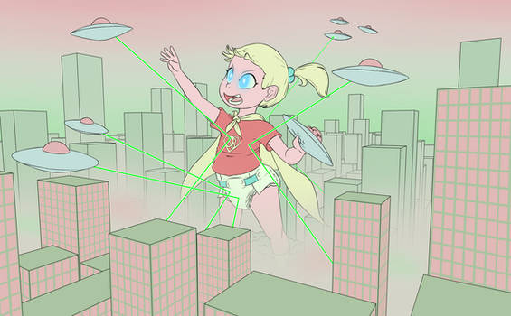 Giant Super Baby by NormalDeviant