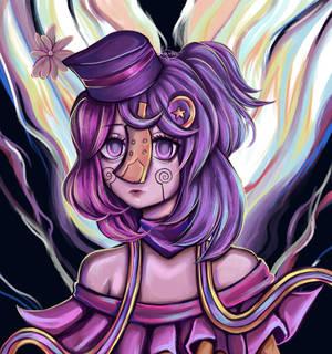 Colored aura