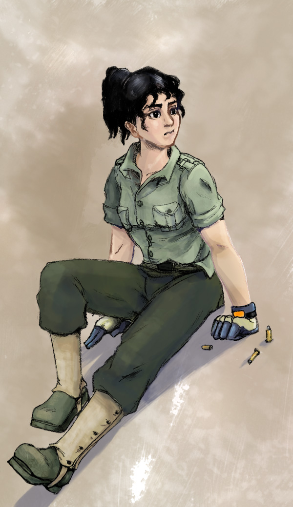Soldaten Girl Sparrow by Black-Black