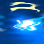 moon reflection by numanuma306