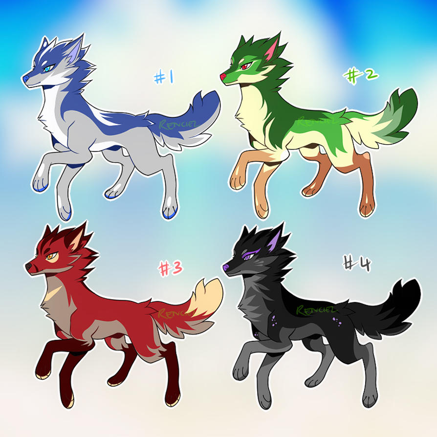 Wolf Adopts :: 14062016 by RenciAdopts