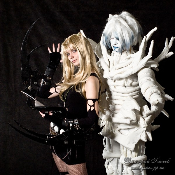 death note misa and rem - photo #8