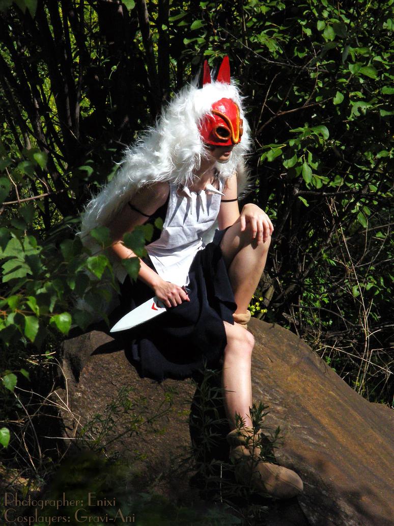 Mononoke Hime by AGflower