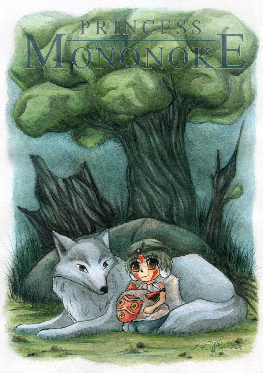Chibi Mononoke by AGflower