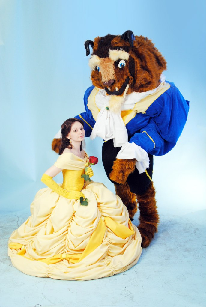 Beauty and the Beast by AGflower