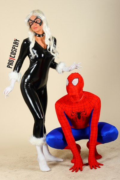 Spider and Cat ProCosplay by AGflower