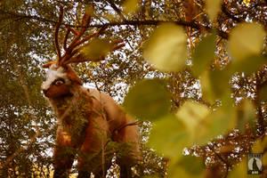God deer by AGflower