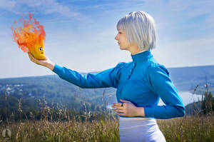 Calcifer by AGflower