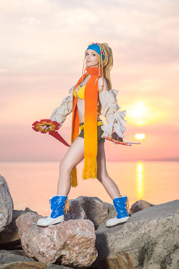 Rikku Final Fantasy X-2 Cospaly by AGflower
