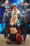 Gods and Glory Succubus Cosplay