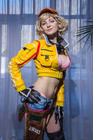 Cindy Aurum Final Fantasy XV Cosplay by AGflower