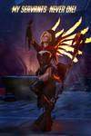 Mercy Overwatch Witch Cosplay BLIZZARD