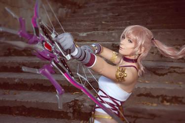 Serah Farron Final Fantasy XIII-2 Cosplay by AGflower