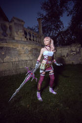 Serah Farron Final Fantasy XIII-2 Cosplay by AGflower