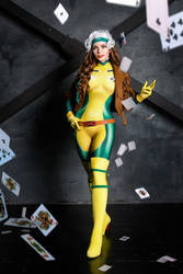 Rogue Cosplay X men by AGflower