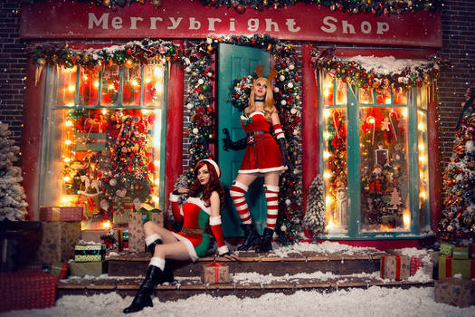 Miss Fortune League of Legends Christmas Cosplay