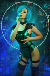 Planet Uranus Cyberpunk