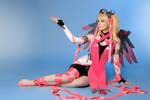 Mercy Overwatch Pink Cosplay BLIZZARD