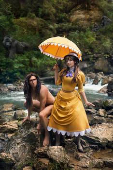 Tarzan and Jane Disney Cosplay
