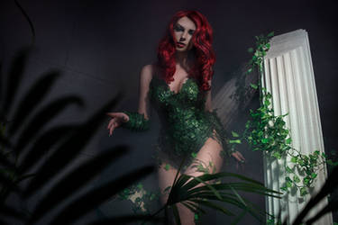 Poison Ivy Cosplay DC Batman by AGflower