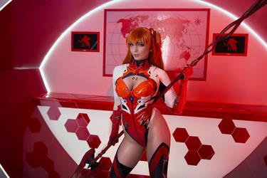 Asuka Langley Evangelion Cosplay Eva 02