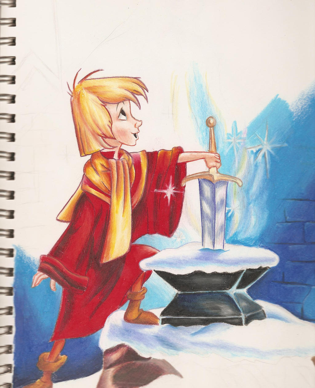 The Sword In The Stone by the-princess-bob