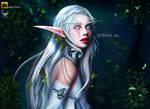 Night Elf - Sopina Art