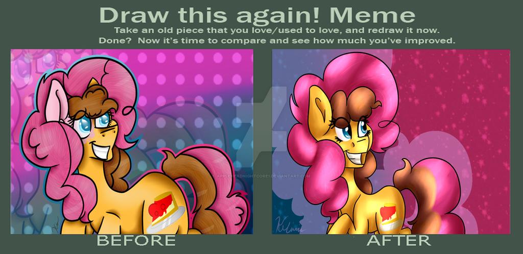 Draw this again meme by AppleheadNightcore1