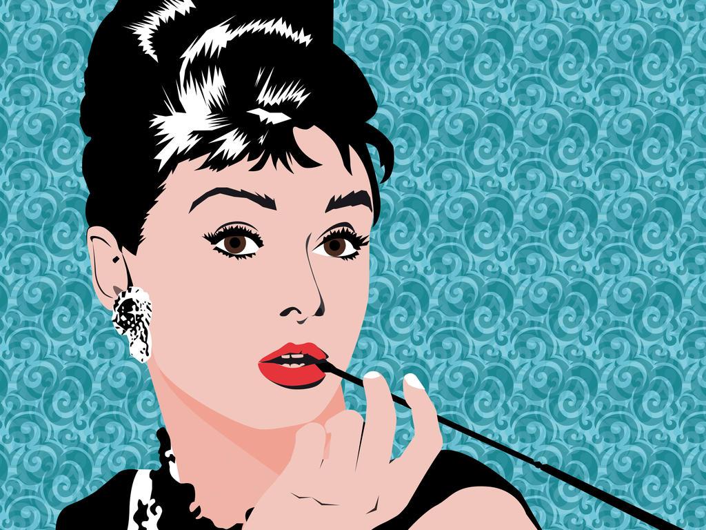 Audrey Hepburn Pop Art by carles97 on DeviantArt