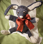 Barnaby the Knitted Bunny Rabbit by esther-rose-mouse