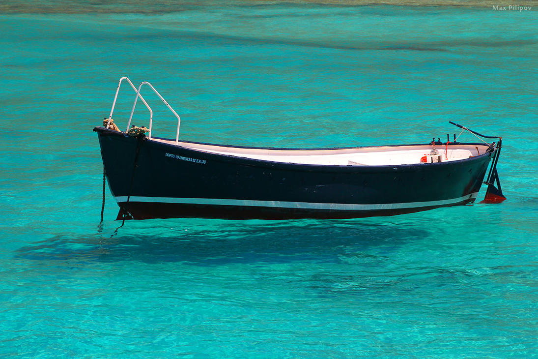Boat near Balos by 4otomax on DeviantArt