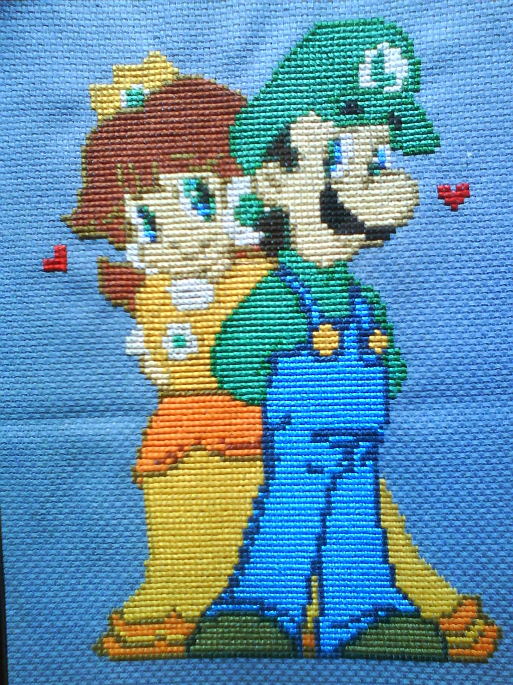Shy Sidekicks Cross Stitch by kisutra