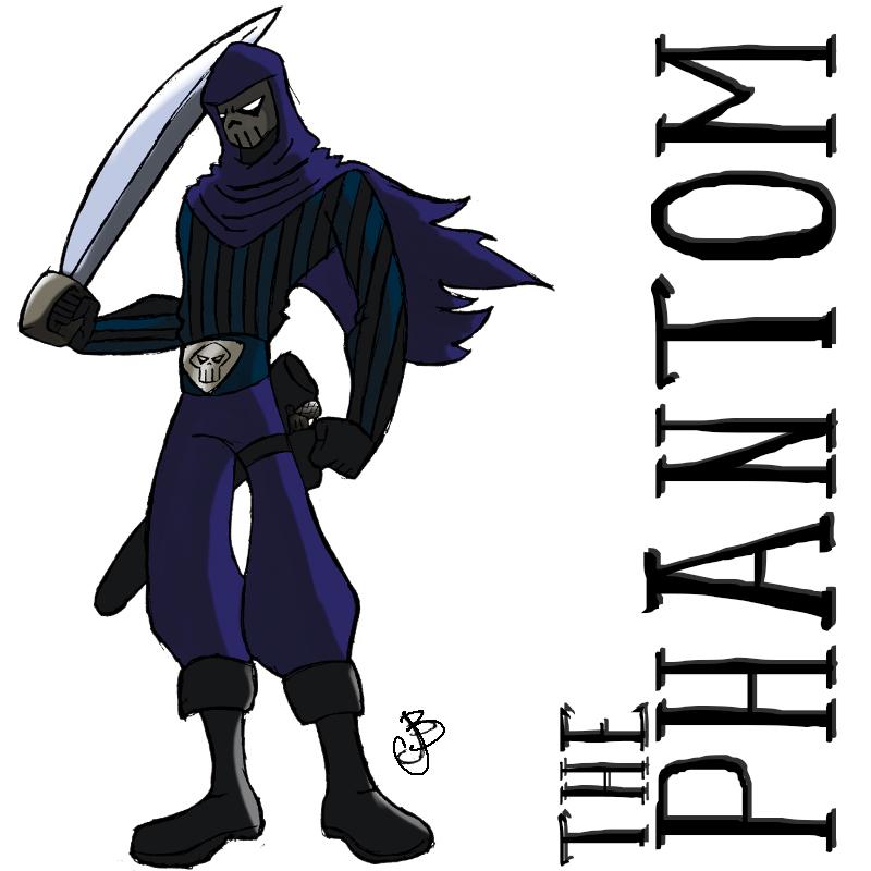 ReImaginated: The Phantom by brounkandeemann