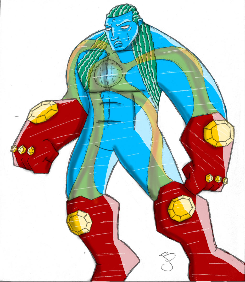 Captain Planet Re-Design by brounkandeemann
