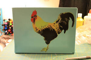 Rooster by isaacneale