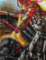 Iron Man Age of Ultron by ArtNinjaTX