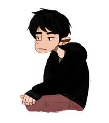 sad boy by Kacttus