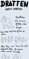 OPEN SPECIE - Dratten (READ DESCRIPTION)