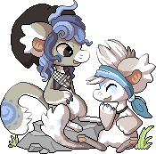 [PIXEL] Ori and Naku by Ayinai