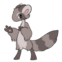 [CLOSED] 401 - Raccoon - Parasplicer by Ayinai