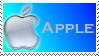 Blue Apple Stamp by SoaringWind
