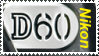Nikon D60 Stamp by SoaringWind