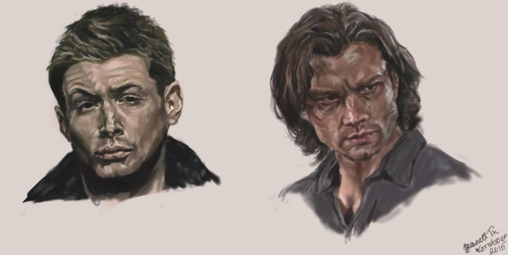 Dean and Sam by jeanettk
