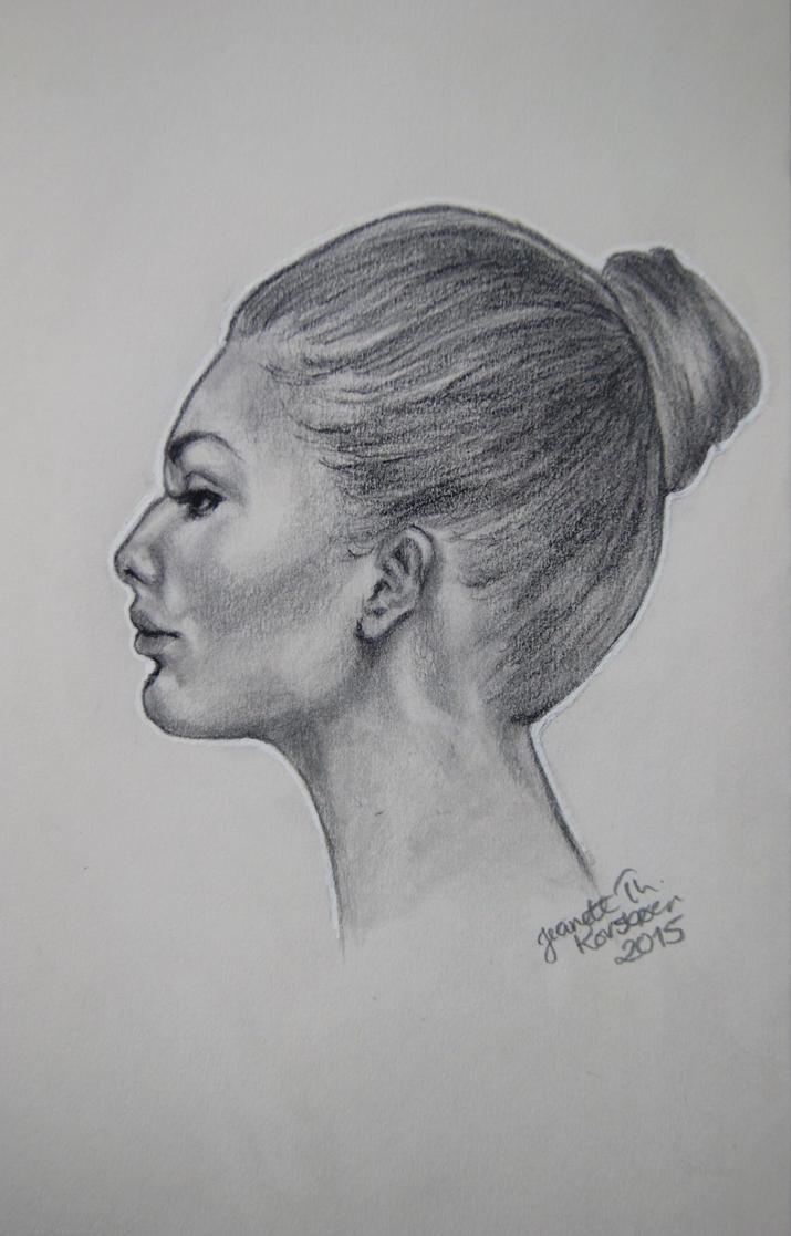 Portrait study by jeanettk