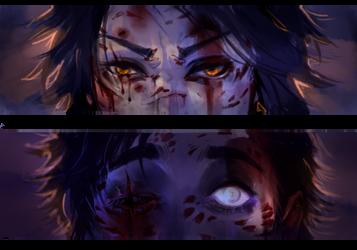 [GR] All Eyes On You by parasite-z
