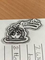 Scribbling On School Work by UnicornFantasy1