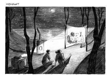 MOONLIT CINEMA by TessCas